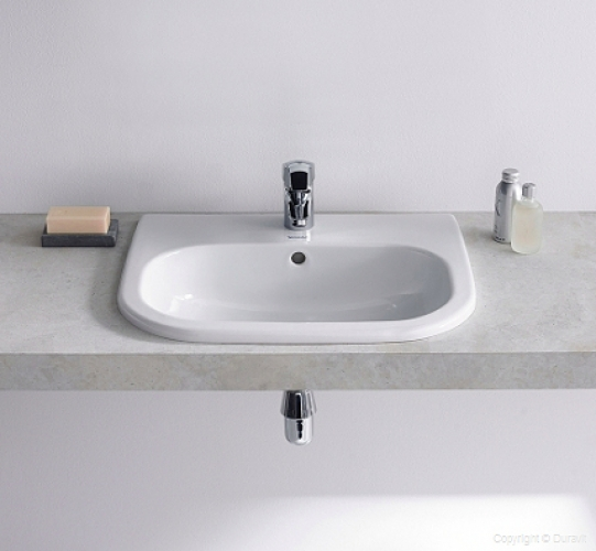 D-Code beültetheto mosdó 54x43 cm fehér - Kádak, szaniterek, zuhanykabinok - Fürdőszoba ...