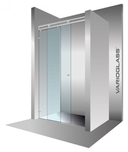V2 tolóajtó Varioglass 140-es - Kádak, szaniterek, zuhanykabinok - Fürdőszoba berendezés ...